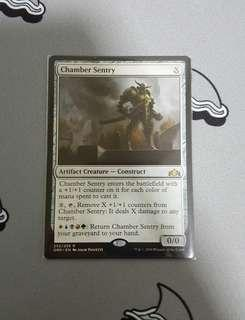 Magic The Gathering - Chamber Sentry Creature Card