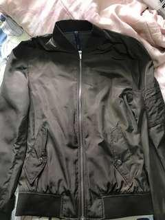 Jaket Bomber Zara Hijau Original 100% authentic