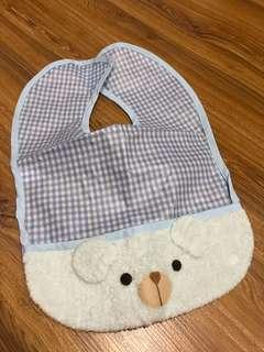 Bear baby bib from Japan