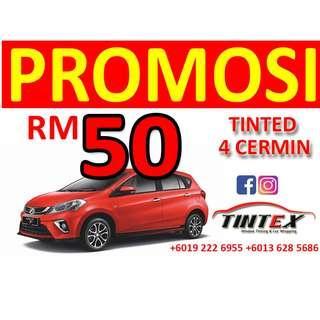Promosi Tinted Serendah RM50 shj