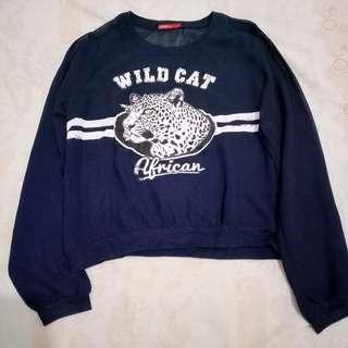 Logo Jeans Sweater
