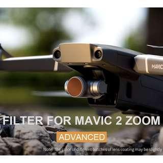 🚚 PGYTECH 4pcs ND-PL Advanced Filter Lens Filters Len for DJI MAVIC 2 ZOOM (ND8-PL / ND16-PL / ND32-PL / ND64-PL) Drone Accessories
