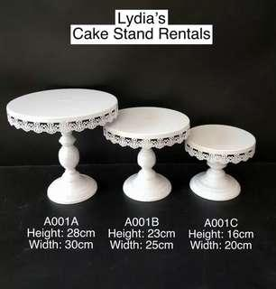Cake Stand party for rent #SBUX50