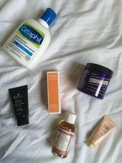FREE - Misc. makeup and skincare