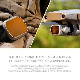 🚚 PGYTECH 1pc CPL Polarize Advanced Filter Lens Filters Len for DJI MAVIC 2 PRO Drone Accessories