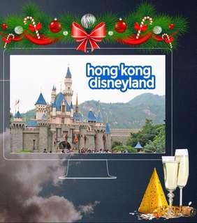 HOLIDAY TRAVEL! 3 Days Hong Kong with Disneyland Day Tour