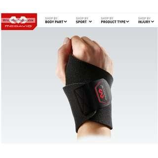 美國 MC DAVID 調整式護腕帶 Wrist Wrap/Adjustable