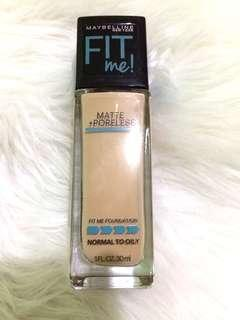 Maybelline Fit Me Matte+Poreless (120)