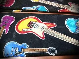 Electric Guitar Tie USA