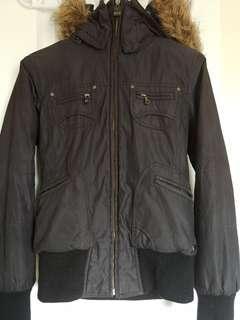 TNA/Aritzia Winter Jacket (Small, Black)