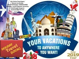 HOLIDAY TRAVEL! LOCAL TOURS!