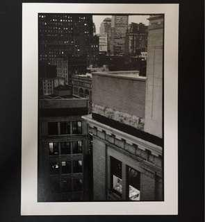 Original Photograph of New York City Street Scene by a French Photographer; c. late 1990s.
