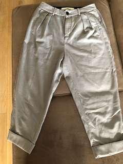 initial 吊腳褲,9分褲