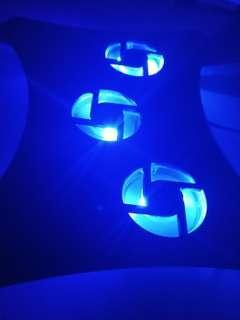 Laptop cooler LED 3 Fans!