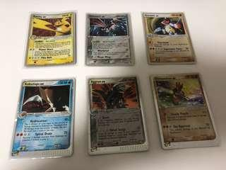 Pokemon Foil Cards