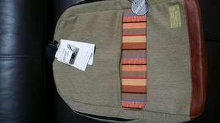 🚚 HEX Echo Backpack - Stinson (Khaki  Stripe - HX1840-BGST)