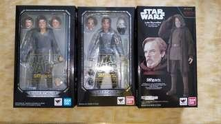Shf star wars Anakin Luke Skywalker (The lady Jedi & the return of the jedi)