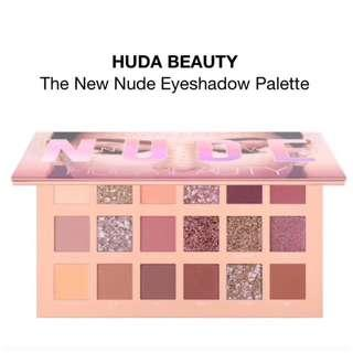 🚚 BNIB Huda Beauty The New Nude Eyeshadow Palette Instock AUTHENTIC