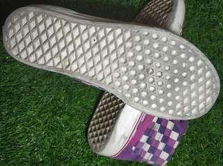 Vans sk8hi checkerboard purple