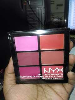 NYX Pro Lip Cream Palette The Pinks