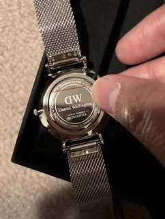 BNIBWT Daniel Wellington Sterling 32mm watch