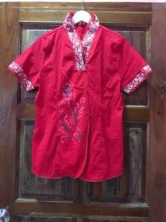 Red Cheongsam Top #EVERYTHING18 #SINGLES1111