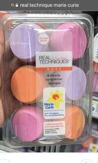 Real technique marie curie limited edition sponges