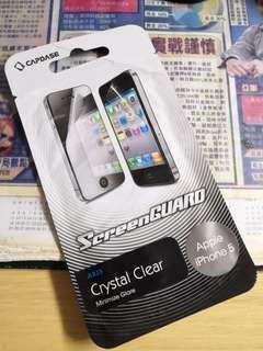 Capdase iPhone5 5S SE 高清 屏幕保護貼