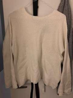 Sweater with ribbon detail