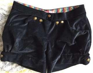 Suede shorts - suitable for size S ladies