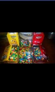 M&M's per kilo