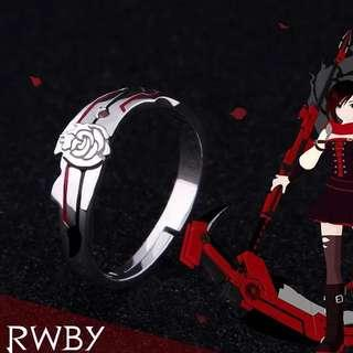 RWBY【Ruby Rose】Pure Silver Ring