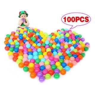 100pcs Ocean Balls Toys