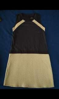 Plains and Prints S dress