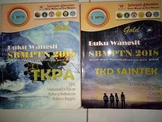 Buku Wangsit TKPA dan TKD (gold)
