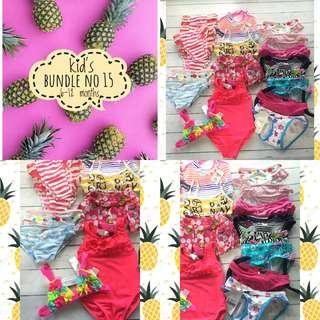 Baby girl swimsuit bundle