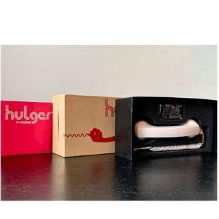 Hulger Retro P* Phone (White) with Y* Cable - Cool handphone attachment + VOIP option (PC)