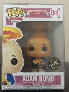 Funko Pop Chase Adam Bomb Glow In Dark Limited Edition Garbage Pail Kids