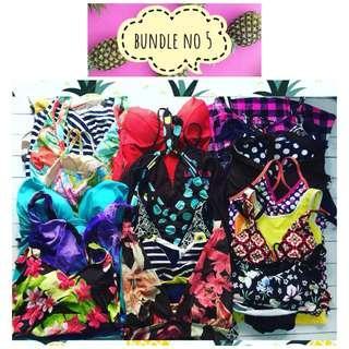 Swimsuit bundle tankini bundle