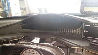 Real Carbon Fiber Overlay Honda Civic FD1 FD2 FD3 FD4 FD2R