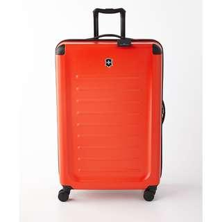 """Victorinox Spectra 2.0 32 inch 32"""" Extra Large XL suitcase luggage spinner 8 Wheel Wheeled Siren Red"""