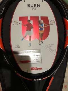 Simona Halep Autographed Wilson Burn 100 Tennis Racket