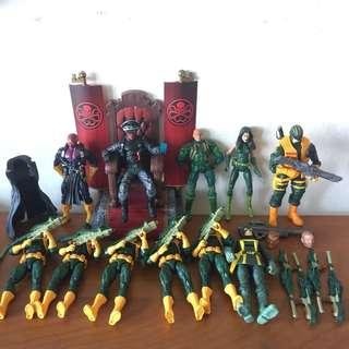 Marvel legends hydra set 1