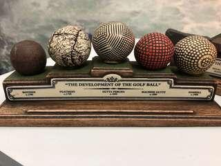 History of Golf Balls and Clubs