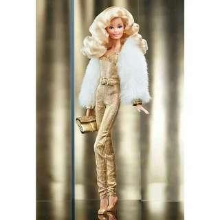 Barbie Collector Golden Dream Superstar Forever Doll