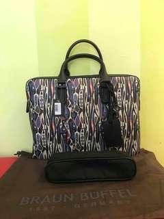 Braun Buffel Briefcase/Document Bag