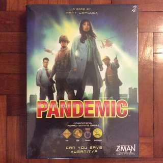 Pandemic board game (slightly dented)