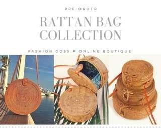Rattan Bags from Bali