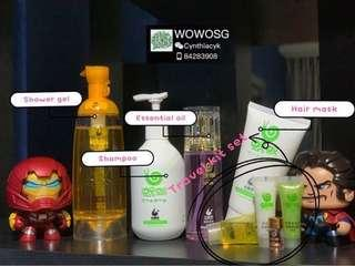 Wowo Travel Kit Set