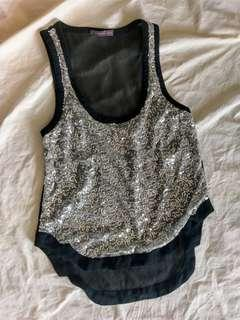 ONCE WAS (Spencer Lacy) sequinned top